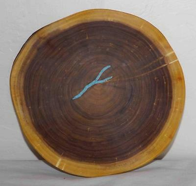 Mesquite Bowl Serving Dish Nut Bowl Hand Crafted Southwest Art #3