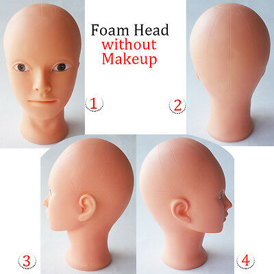 Practice Cosmetology Training Mannequin Head for Makeup Manikin Doll Head Beauty