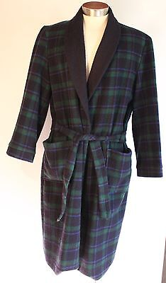 Large, Mens,wool Dressingown Made In Australia By Robemaker.