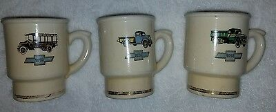 Chevrolet Antique Vintage Collectible Coffee Mug Cup Truck 1918 1938 1956 (1961)