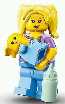 LEGO 71013 Minifigure CMF Series 16 *Babysitter* with baby figure NEW SEALED