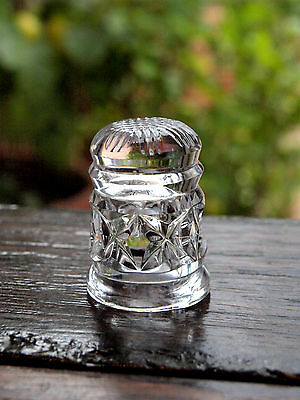 Waterford Crystal Thimble Collectable Handmade in Ireland, Mint