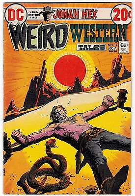 WEIRD WESTERN TALES #14 (FN+) Early JONAH HEX Appearance! 1972 DC Alex Toth Art