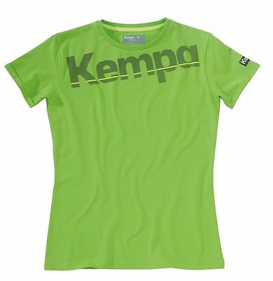 Kempa CORE BAUMWOLL LOGO T-SHIRT WOMEN hope grün
