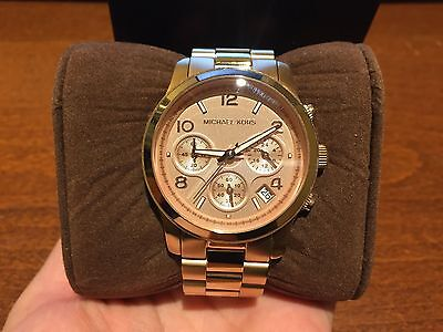 Michael Kors women's rose gold-tone watch