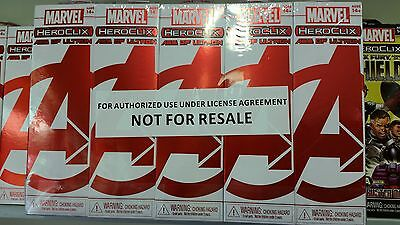 Heroclix Brick 10 Boosters di Avengers Age of Ultron Wave 1 ( bianca )