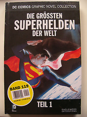 DC Comics Graphic Novel Collection 119 Die grössten SUPERHELDEN der Welt Teil 1