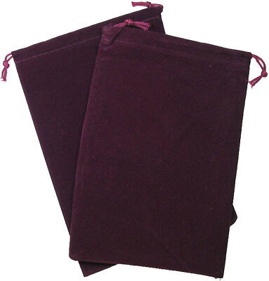 Bag Suedecloth Large Burgundy  - BRAND NEW