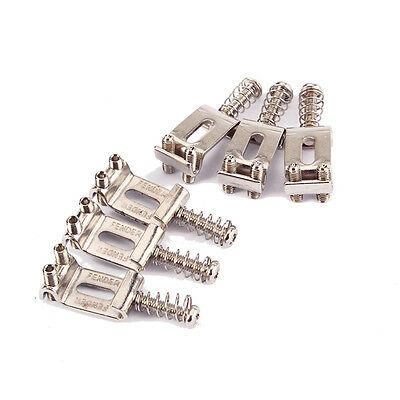 Tremolo Bridge Saddles for Fender Electric Guitar Replacement Parts 6pcs