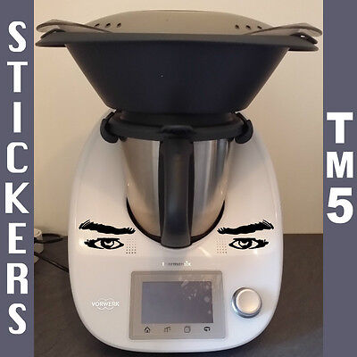 Sticker Cuisine Thermomix TM5 - Yeux Homme