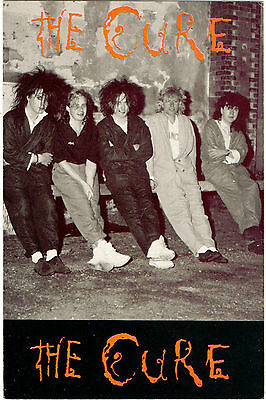 """""""The Cure"""" Publicity Postcard (Heroes SPC1010)"""