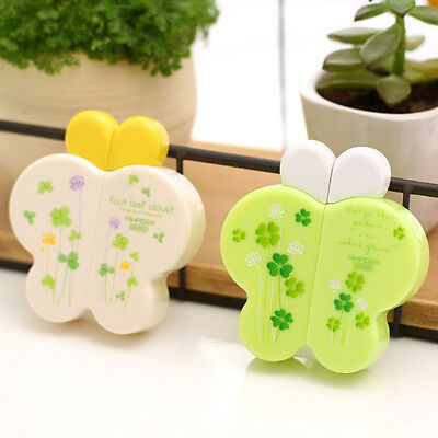 Chic Cute Kawaii Clover Butterfly Correction Tape Stationery Corrector Stickers