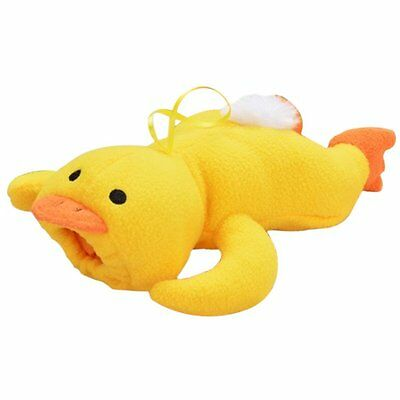 L162 Baby Animal Holder Storage Bag Pouch Cover for Milk Bottle(Yellow Duck)