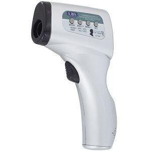 thermomètre médical sans contact thermoscope lbs