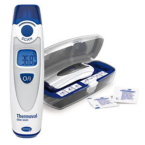 thermomètre infrarouge thermoval duo scan