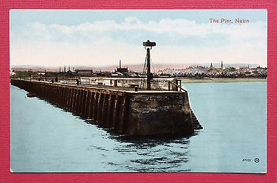The Pier, Nairn, Pu Valentine, No.57101, Printed, Unposted