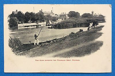 The Avon Opposite The Pleasure Boat, Bidford, Pu Collins, Printed, Posted 1905