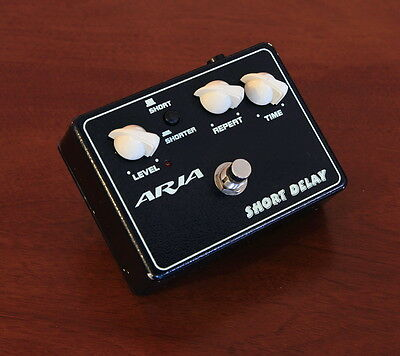 Aria Short Delay Effect Pedal -->Great budget effect<--