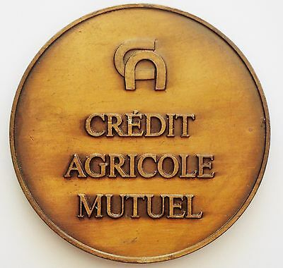Medaille- Credit Agricole Mutuel (V10)