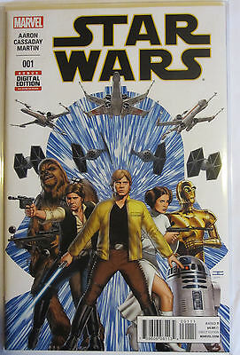 STAR WARS #1 MARVEL COMIC - 1st PRINT - New - Bag & Boarded
