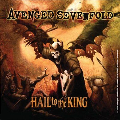 Avenged Sevenfold Hail To The King Single Coaster Cork Band Official Merchandise
