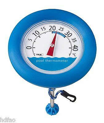 Schwimmbadthermometer Pool Thermometer Teichthermometer TfA Poolwatch