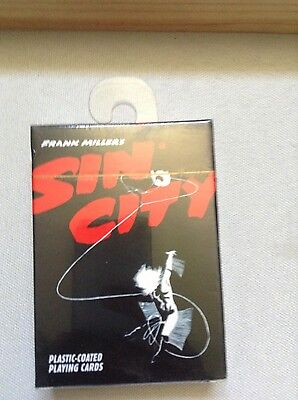 Frank Miller's Sin City Playing Cards - Rare