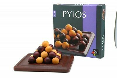Pylos Mini Wooden Strategy Board Game Brand New Sealed Gigamic Kids Family Toy