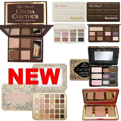 Too Faced Eyeshadow Palette Natural Love Highlighter Chocolate Chip Face Contour