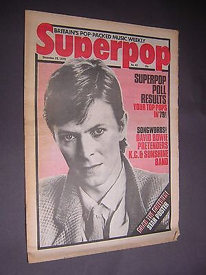 SUPERPOP. DECEMBER 29th 1979. VERY SCARCE WEEKLY MUSIC MAGAZINE.