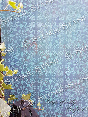 Tile Safi STENCIL 100mm A5 TS Moroccan Furniture Wall Floor QUALITY 190 MYLAR