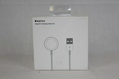 NEW Genuine Apple Watch A1570 Magnetic Charging Cable (1m) White - MKLG2AM/A