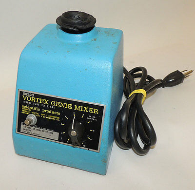 Baxter Scientific S8223 Vortex Genie Lab Mixer Shaker Vortexer / Warranty
