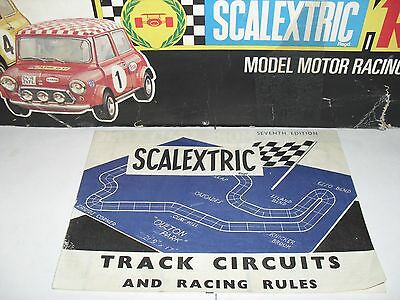 scalextric vintage slotcar track circuits and racing rules seventh edition