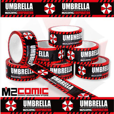 Resident Evil Umbrella Corporation Packing Tape Sealing Glue Anime Cosplay Tool