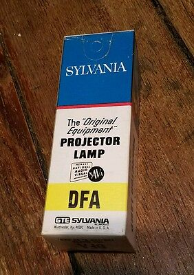 Vtg SYLVANIA DFA Projector Projection Lamp Bulb 150W 120-125V in BOX USA Made