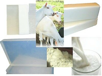 1 kg GOATS MILK MELT and POUR SOAP BASE MP: FREE Shipping: Low Sweat, Easy, Firm