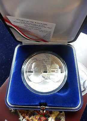 2017 Hungary 150th Anniv. of the Austro-Hungarian Compromise of 1867 - Silver PP
