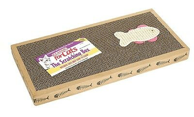 Classic Cat Scratching Post Cats Kitten Scratcher Box Board with Catnip 2006