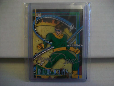 2015 Marvel Fleer Retro DOCTOR OCTOPUS / MICHAEL ZECK autograph SPIDER-MAN