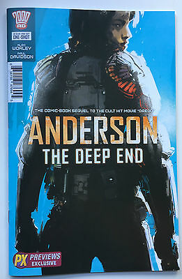 2000ad Judge Anderson The Deep End Jock Variant One Shot NM