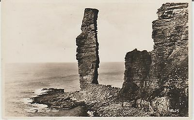 Orkney - Old Man Of Hoy  -Real Photo Early Postcard
