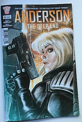 2000ad Judge Anderson The Deep End One Shot NM Dredd Sequel Comic Book