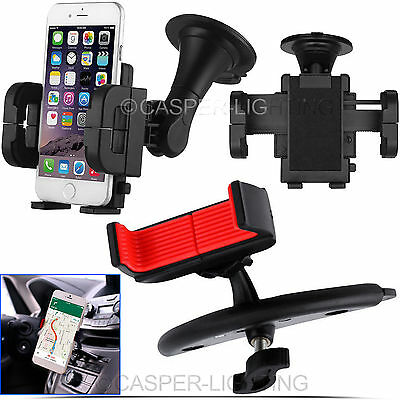 Universal Car Mobile Phone Windscreen Suction Mount Dashboard Holder GPS PDA NAV