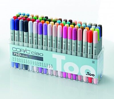 Copic Ciao 72er Set B 22075161 NEU Marker Copicset Markerset 72 Stifte