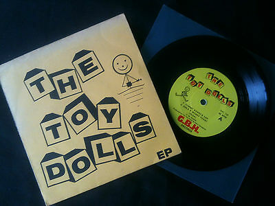 "The Toy Dolls - The Toy Dolls EP  7"" UK 1981 VG/VG+  # Punk"
