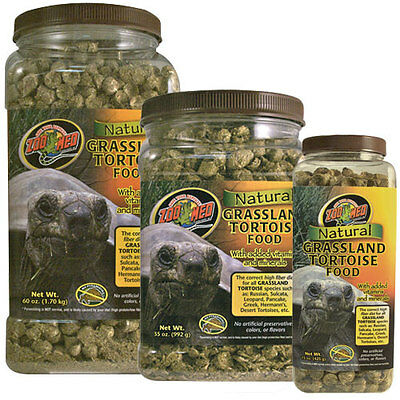 ZooMed Natural Grassland Tortoise Food 240g, 425g, 1.7kg