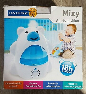 Lanaform Mixy Cold Water Air Humidifier - Kids / Babies / Toddlers