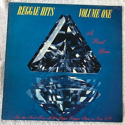 Reggae Hits - Volume One - original VINYL LP ALBUM