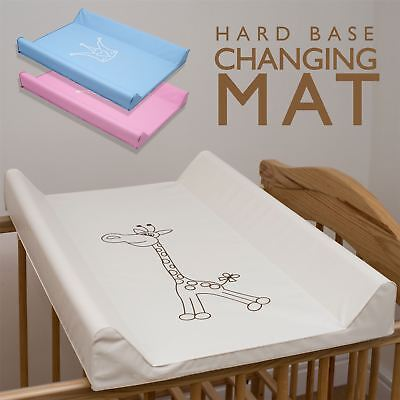 Baby Cot or Cot Bed Top Hard Base Changing Mat